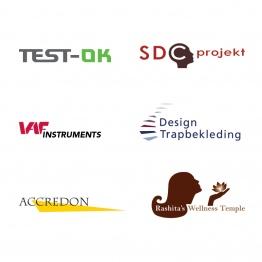 Verschillende logo's